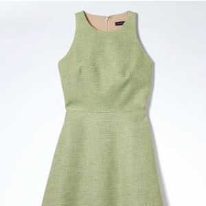 Banana Republic Tweed Fit and Flare Dress